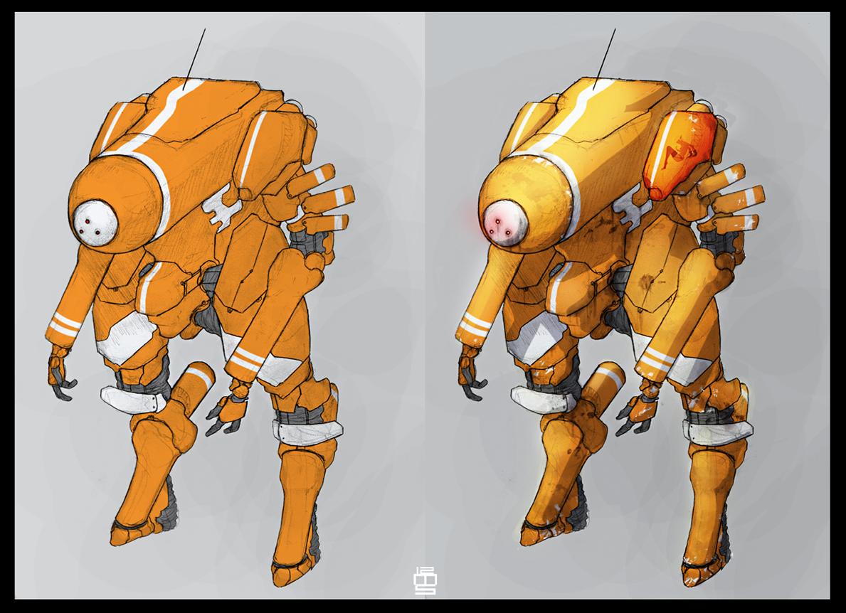 Corsis Y-01 Watcher TA by Zaeta-K
