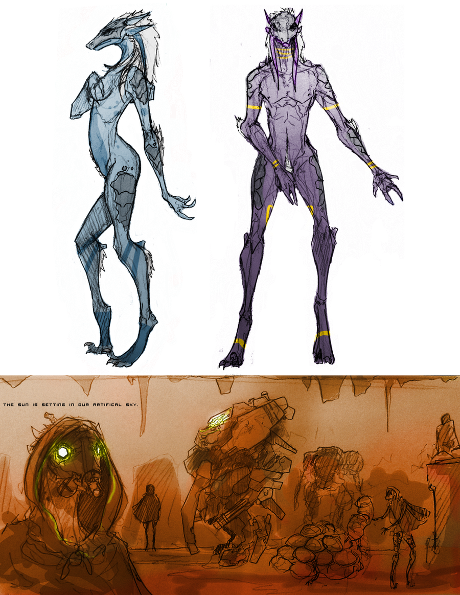 Phedan Sketches by Zaeta-K