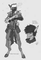Afterwar Era Dusk Legion by Zaeta-K