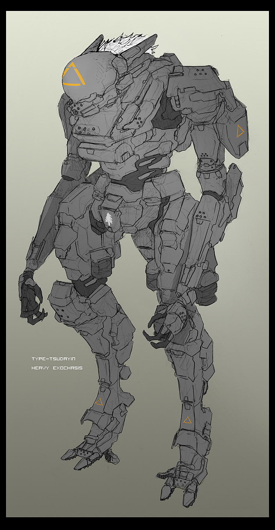 Tsudayin Heavy Armor by Zaeta-K