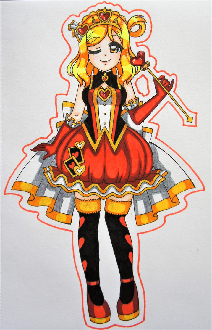 Queen of Hearts by Chikabby