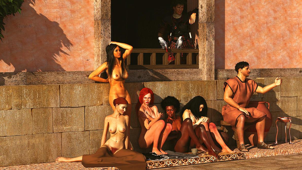 Порно римские рабы
