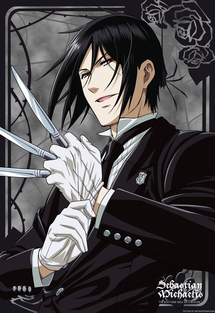 Sebastian: Hell of a Butler by SatoshisDarkchan on DeviantArt