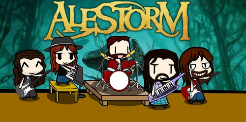 Walfas Custom - Alestorm by Gii828