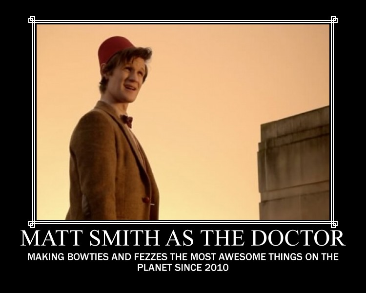 Bow Ties Are Cool Matt Smith Matt smith as the doctor by