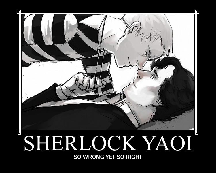 Sherlock Yaoi by Like-A-British-Guy