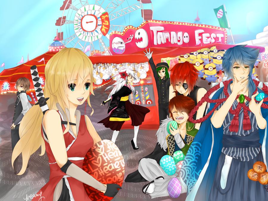 CH: Tamago Fest by yueru
