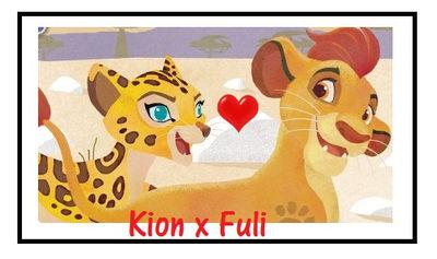 Kion X Fuli Stamp by CatDasher