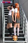 Rukia and Orihime cosplay BLEACH