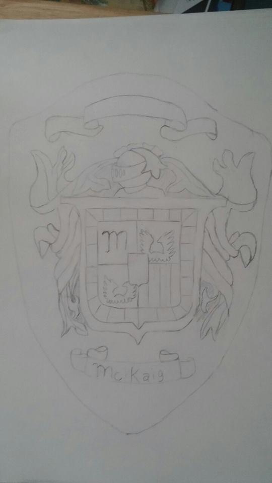 MY family crest by sophiafreak7797