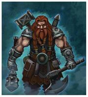 Ulfanc-War Maven Dwarf by Raaom