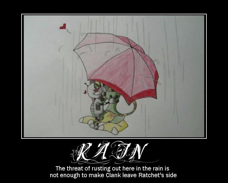 Rain by lombnut