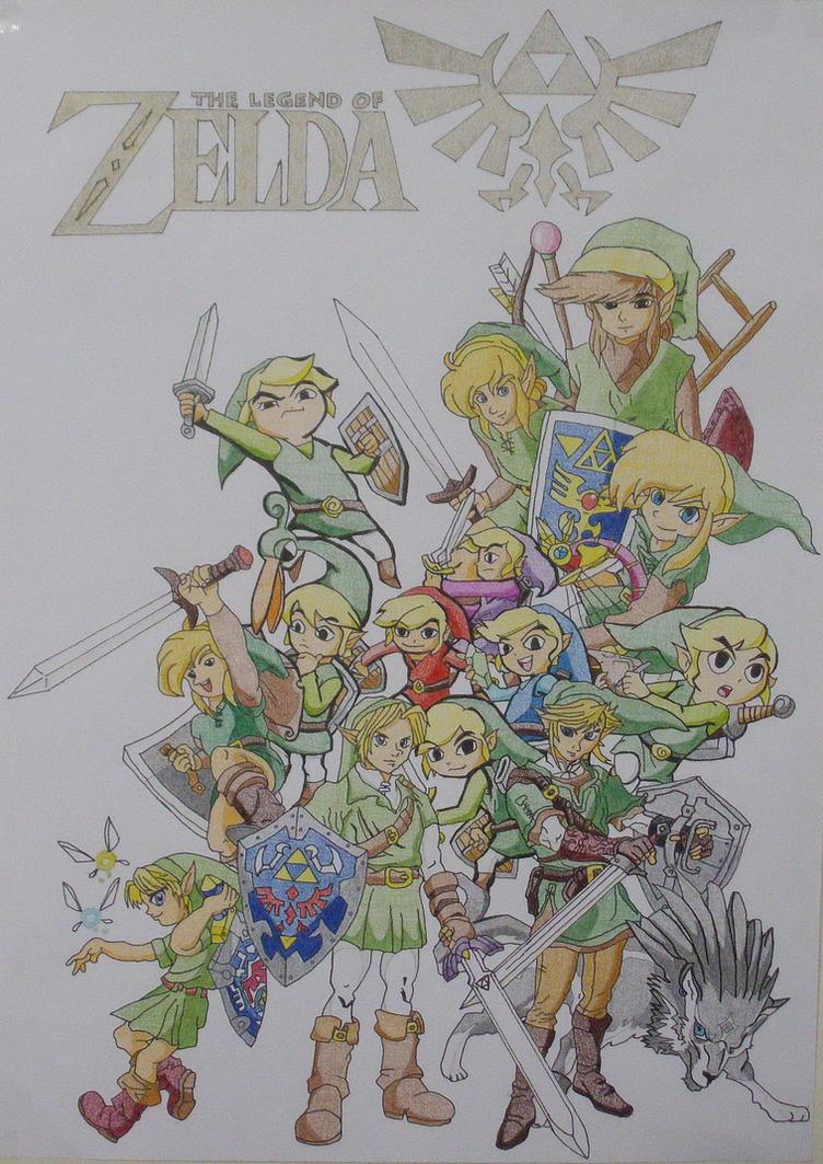 The Legend of Zelda by lombnut