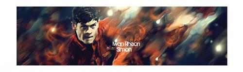 Iwan Rheon alias Simon by jutamahmud