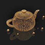 Teapot. 3D Max.