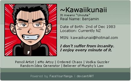 My Deviantart ID 2008 by Kawaiikunaii