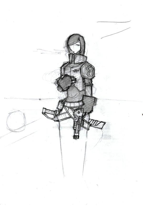 Imperial Guard by Kawaiikunaii