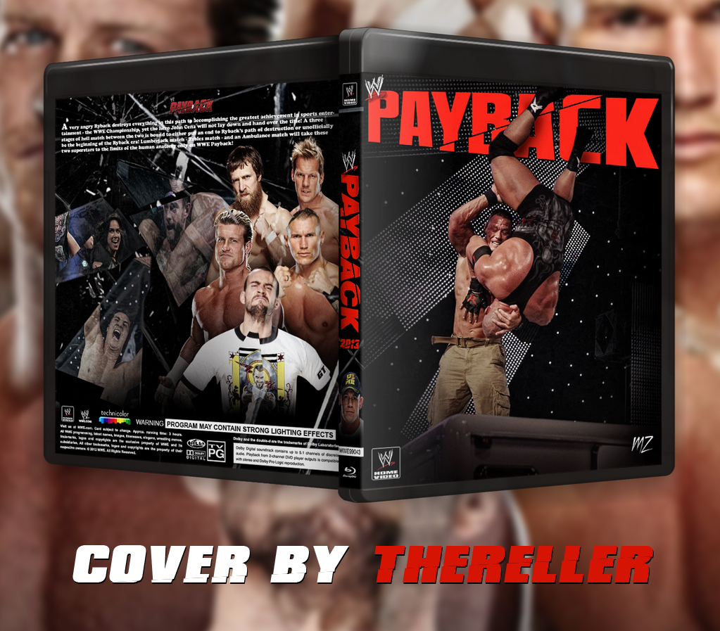 WWE Payback 2013 Blu-Ray Cover by TheReller