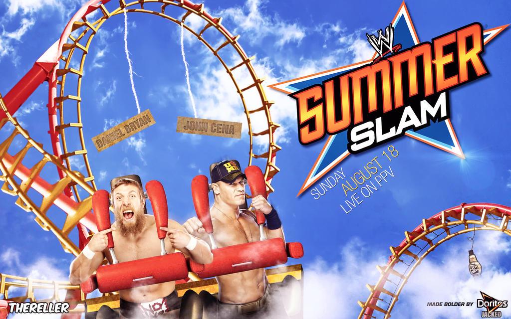WWE SummerSlam 2013 - John Cena vs. Daniel Bryan by TheReller