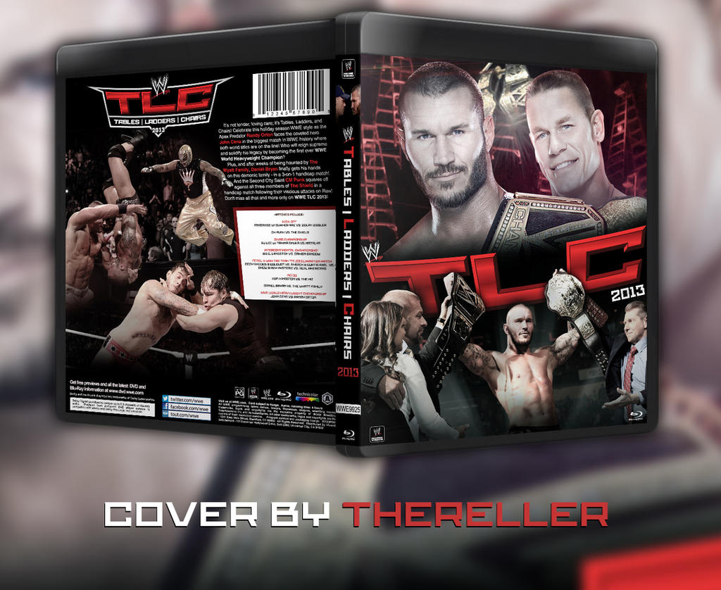 Wwe tables ladders and chairs 2013 poster - Sidcena555 20 9 Wwe Tlc 2013 Custom Bluray Cover By Thereller