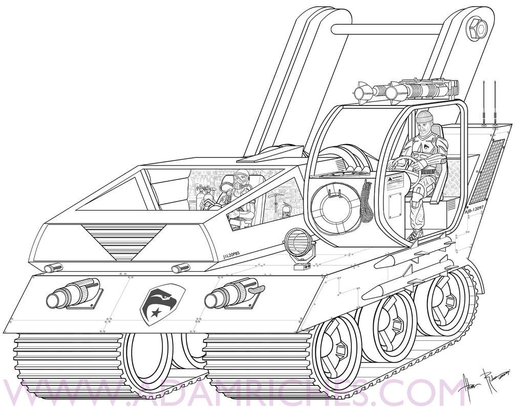 G.I. Joe Mobile Dock Concept 1 by AdamRiches on DeviantArt