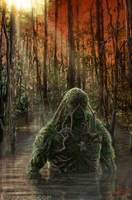 Swamp Thing by AdamRiches