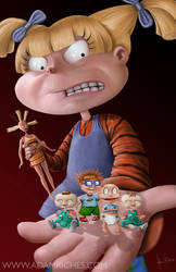 Realistic Rugrats! by AdamRiches