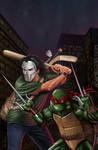 Teenage Mutant Ninja Turtles TMNT Casey Jones Raph