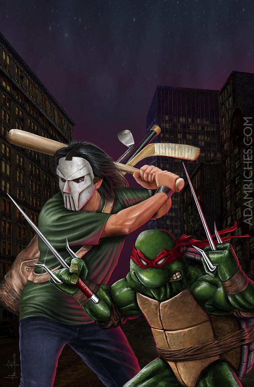 Teenage Mutant Ninja Turtles TMNT Casey Jones Raph by ... - photo#20