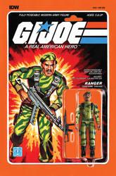 G.I. Joe ARAH #222 Stalker toy comic cover IDW