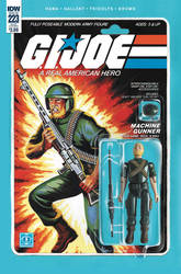 G.I. Joe ARAH #223 Rock 'N Roll toy comic IDW