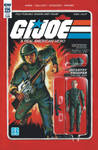 G.I. Joe ARAH #225 Grunt toy comic cover IDW