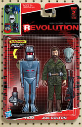 IDW Revolution ROM Joe Colton toy cover #2 by AdamRiches