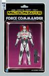 Micronauts #10 Force Commander action figure cover
