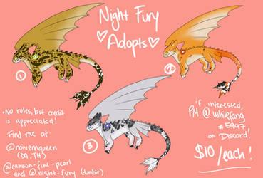 night fury / leopard gecko adopts
