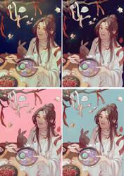 Xie Lian Tianguancifu  by Xualwqy