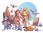 Happy Halloween  Modaozushi LanwangjixWeiwuxian