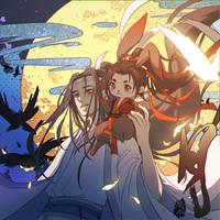 Moon - Lan Wangji X Wei Wuxian