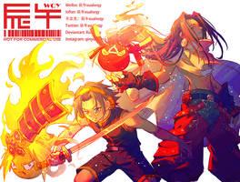 D33-Asakura YohxHao 0512 Birthday Shaman King