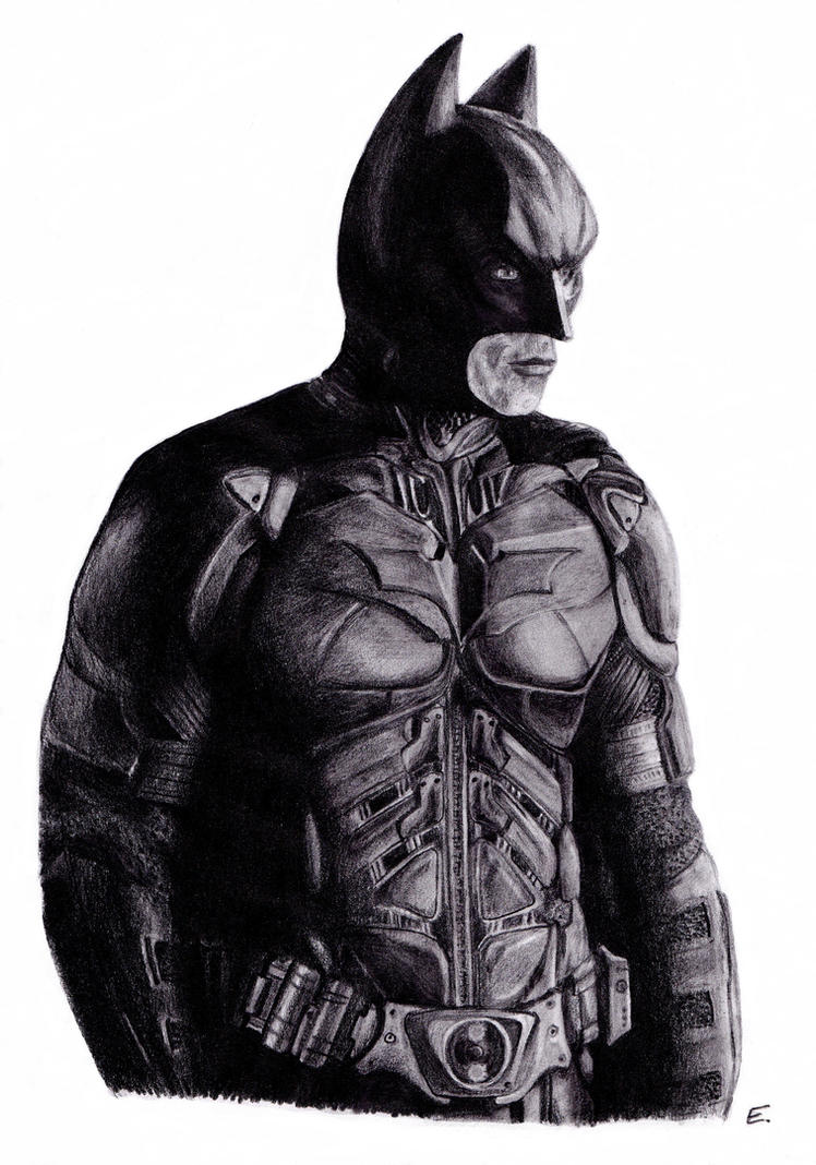 Batman by Evulee
