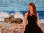 Joanna, Ocean Princess - oil painting