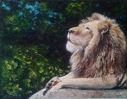 Fearless - Acrylic Painting