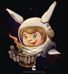 Bonus Headshot for Spacehopper adopt