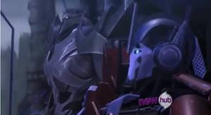 TFP Screenshots: Orion Pax and Megatronus