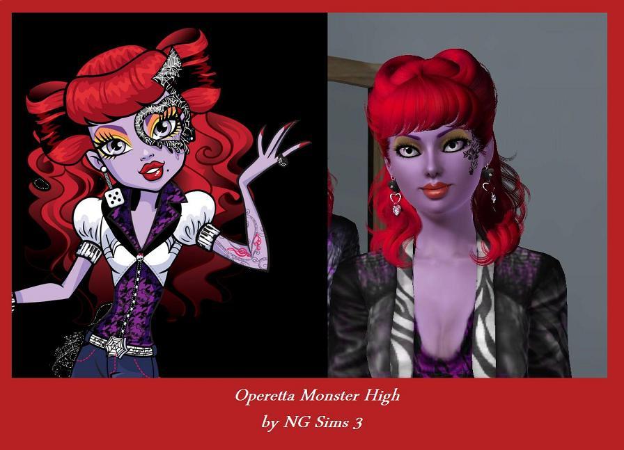 Monster High Operetta Wallpaper