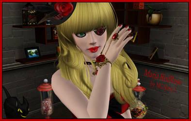 Maria Redrose Sims3