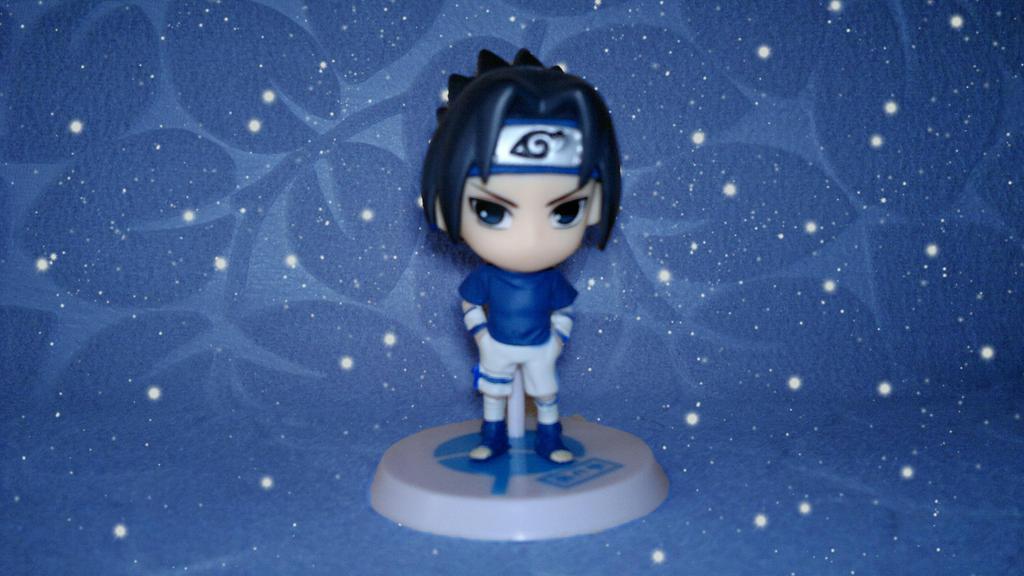 Chibi Sasuke Figure by ng9