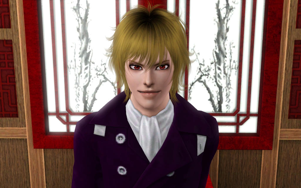 Sims 4 Anime Characters Mod : Chikage kazama sims by ng on deviantart