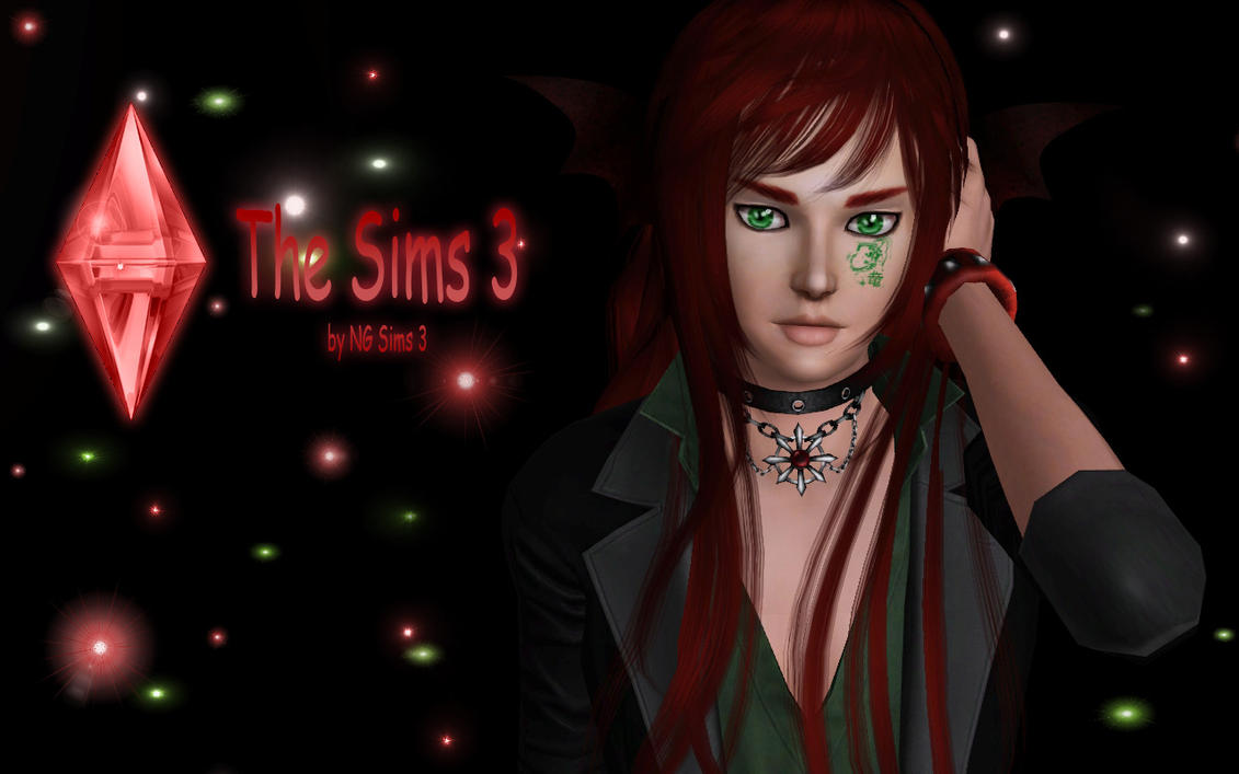 The Sims 3 Wallpaper - Red by ng9