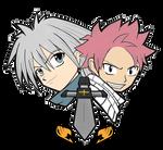 Haru Glory and Natsu Dragneel